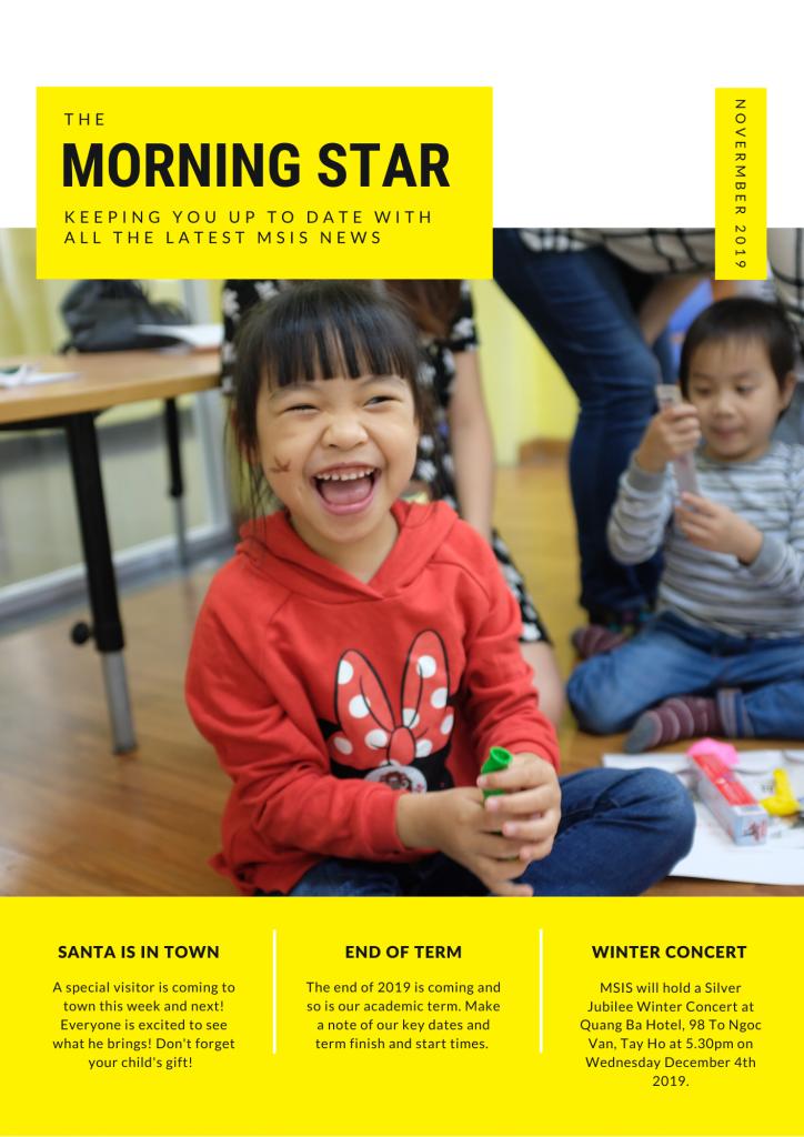 Morning Star November Newsletter 2019